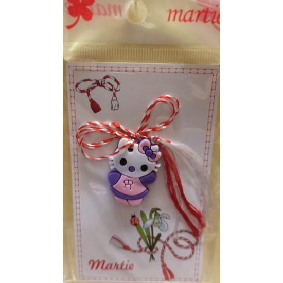 Rubber pendant March ornaments. Hello Hello Kitty kitten.