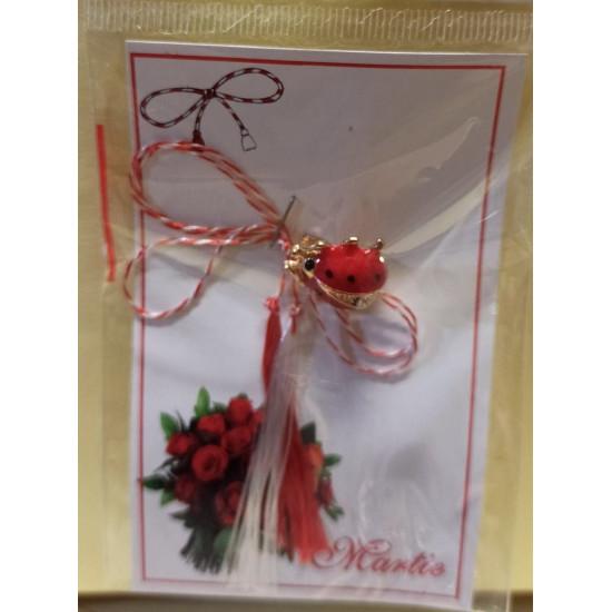 March ornaments. Snowdrop metal brooch 27x20mm, gargle brooch with 3 rhinestones.
