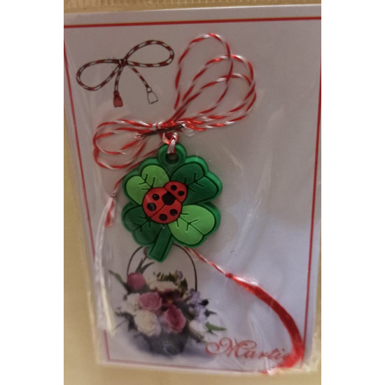 March ornaments. Donald Duck rubber pendant, Tom rubber pendant and garland funza rubber garland.